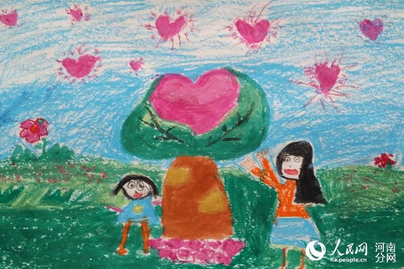 透过画笔看世界 本网 爱伴成长 儿童绘画作品选登图片