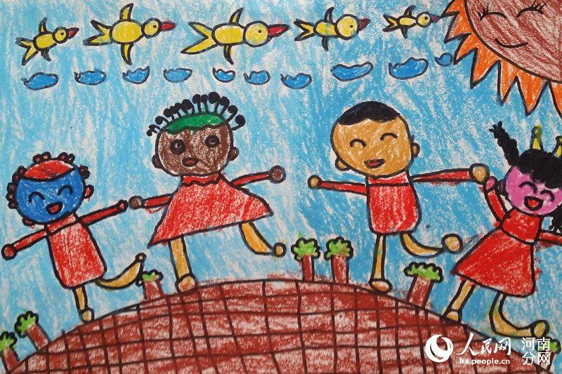 透过画笔看 世界 本网爱伴成长 儿童绘画作品 选图片