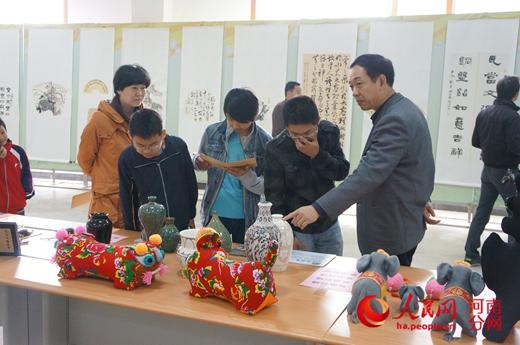 文化遗产及书画作品展 亮相江西赣州