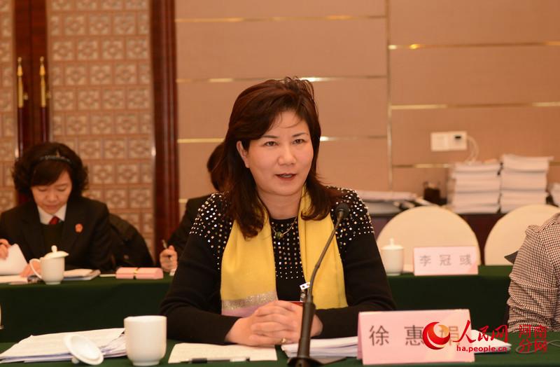 河南省政协委员分组讨论法检两院工作报告-