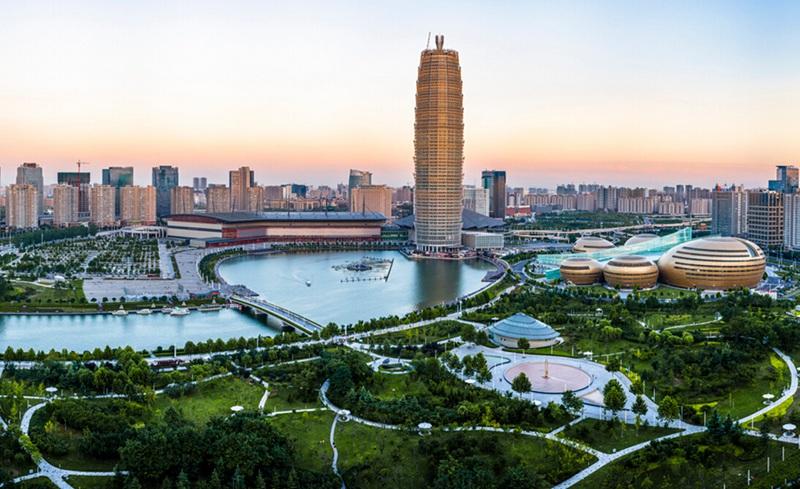 郑东新区 一手绘就