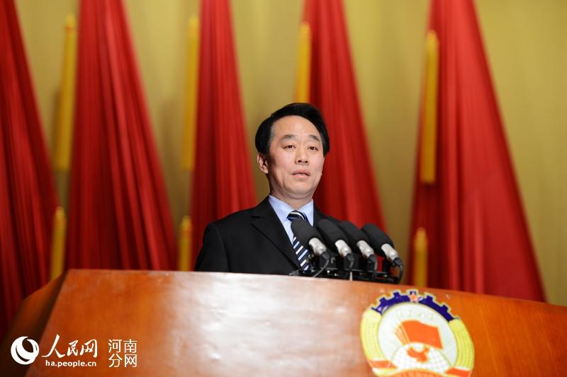 河南省政协十一届四次会议开幕 叶冬松作工作报告