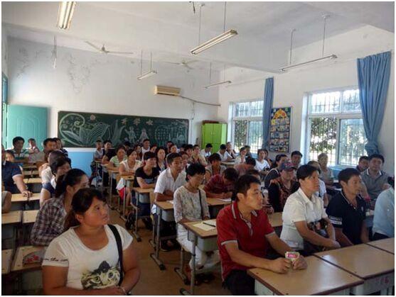 南阳新生召开一小学年级小学家长广播操v新生图片