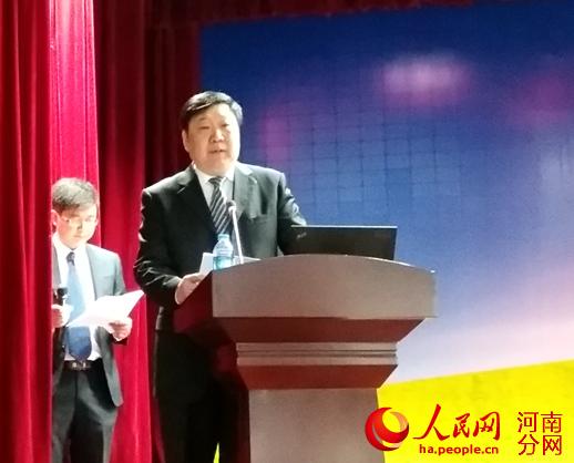 河南工业大学校长张元致辞-9国专业人士郑州聚焦粮油食品科学与技术