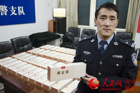 火车上毛贼偷旅客49条千元香烟 洛阳铁警54小