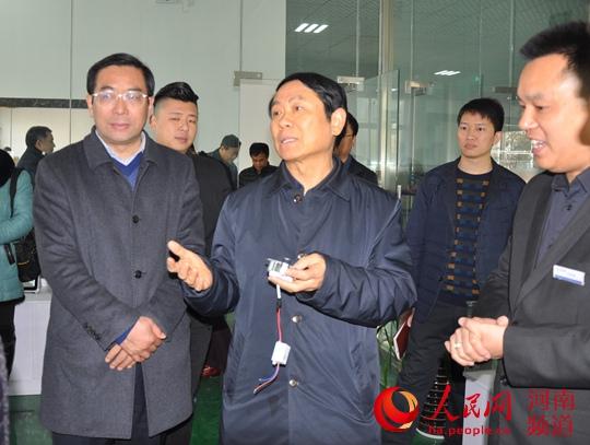 南阳市人大常委会主任杨其昌到社旗督导项目建