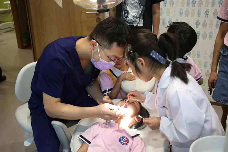 我是小小分数初中a分数公益活动在郑州毕业职中不要的口腔举行牙医图片