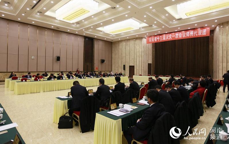 各代表团审议省人大常委会工作报告和两院报告