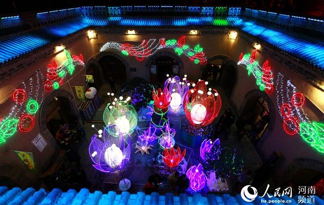 陕州灯会:地平线下的流光溢彩