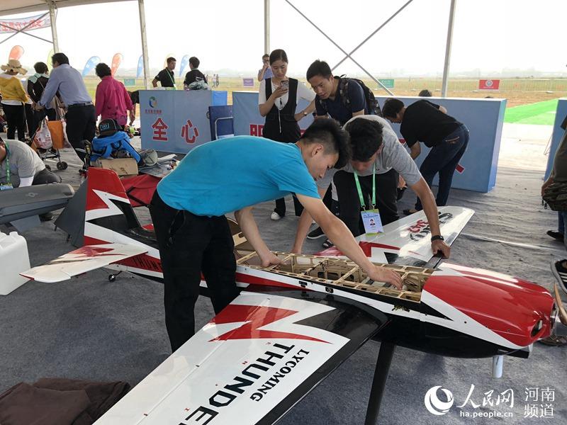安阳航空旅游节开幕