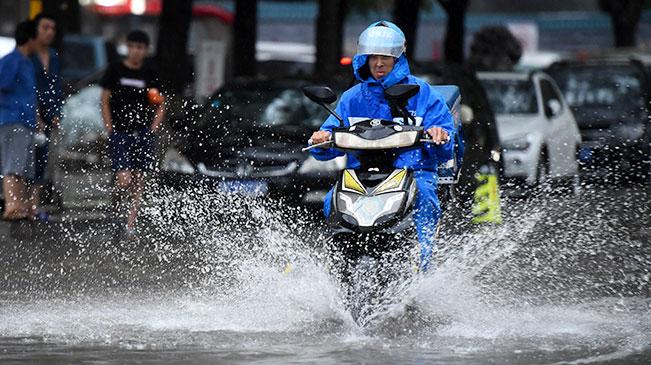 北京发布暴雨黄色预警信号