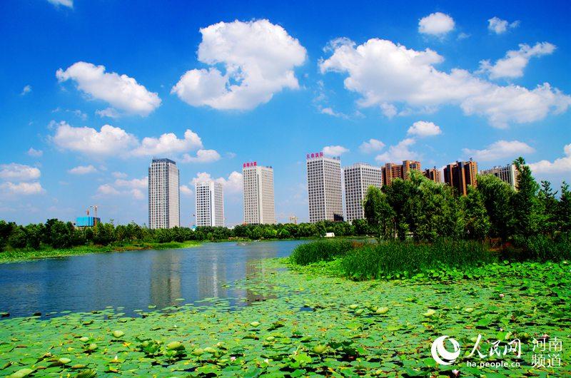 河南许昌:治水造绿 城市美如画