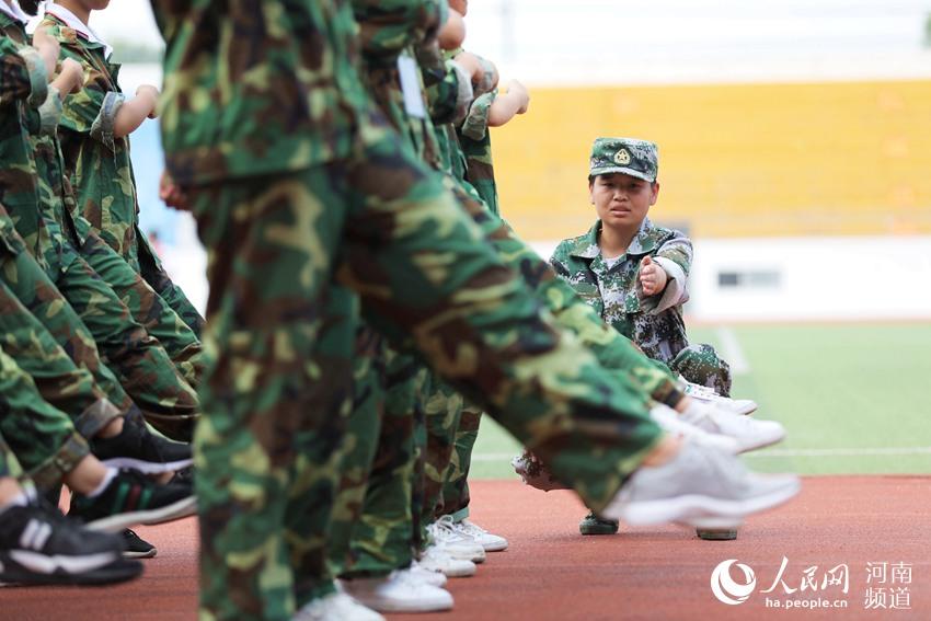 军训第一课