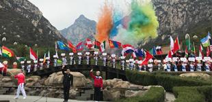 第十二届中国郑州国际少林武术节开幕