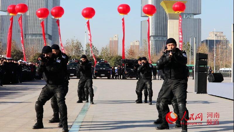 河南启动《反恐怖主义法》宣传月活动