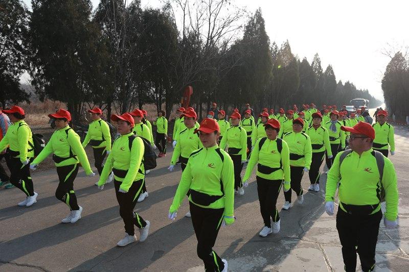 2019全国新年登高健身大会在云台山景区举办