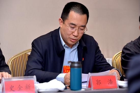 郭浩:加大扶持力度 支持鹤壁建设5G网络试点城市