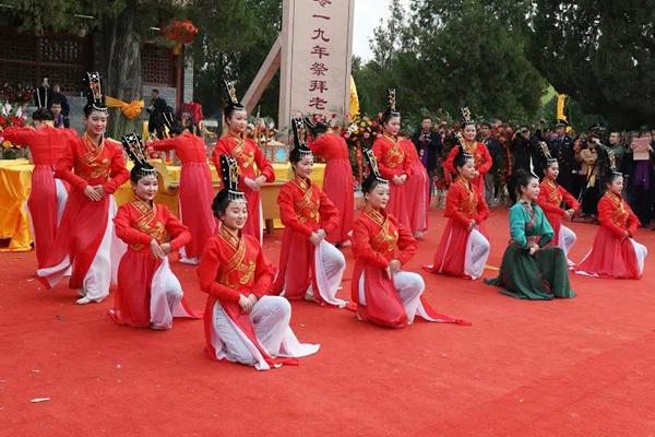 河南鹿邑:万人齐聚 祭拜老子诞辰2590周年