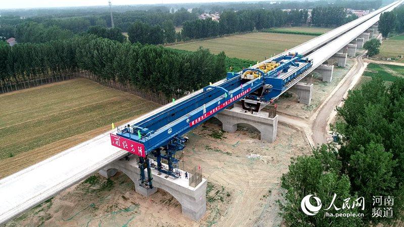 我国高速铁路桥梁建造技术实现重大提升