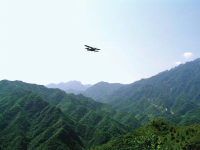 河南飞播造林40年 累计成效面积近500万亩