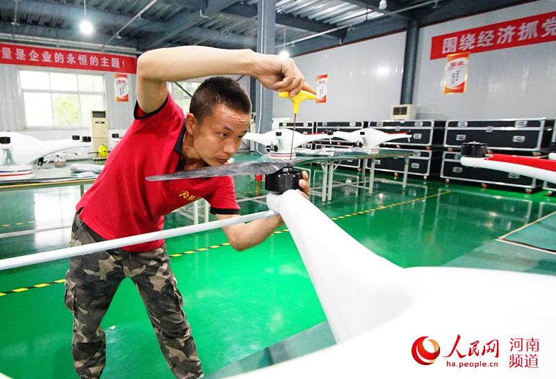 河南西华:全面打响中国无人机生产第一县品牌