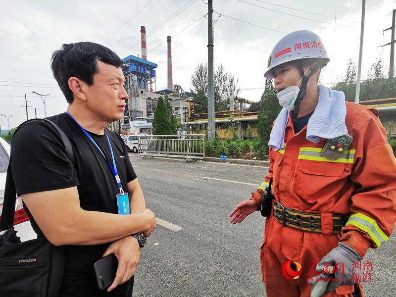 消防指战员讲述救援细节:当时只想着控火、救人