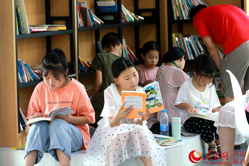 河南光山:新增一处消暑纳凉学习的好去处
