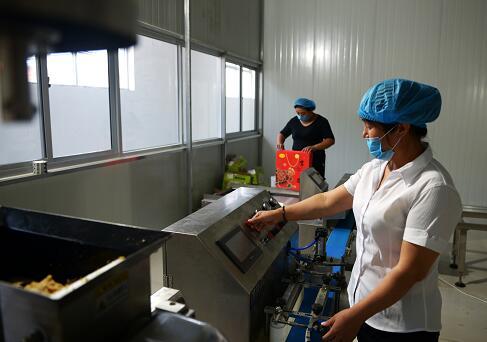 汝州市朱沟村:在家门口建起扶贫产业 让群众的钱袋子鼓起来