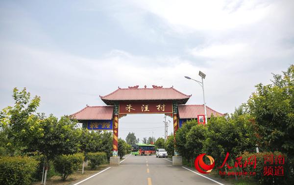 河南宝丰:党建引活水 春色满乡村