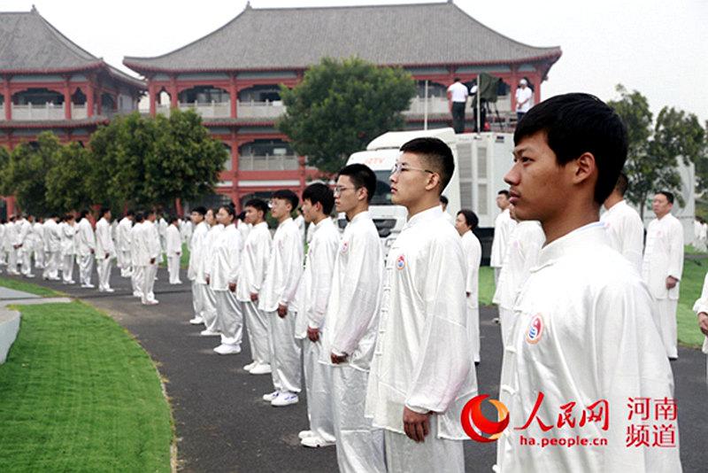 """2019""""一带一路""""太极行活动在河南温县陈家沟启动"""