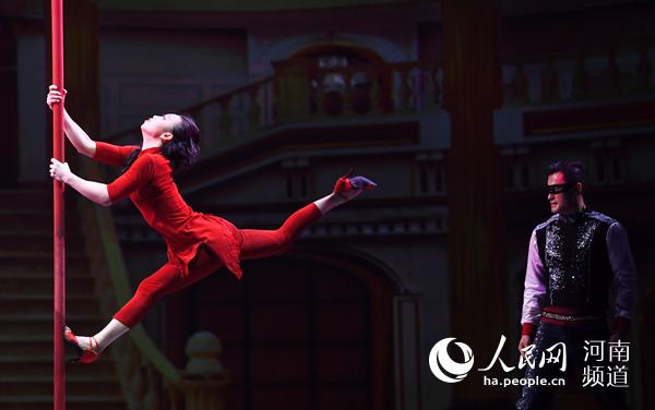 第四届中国杂技艺术节在濮阳开幕 精彩纷呈