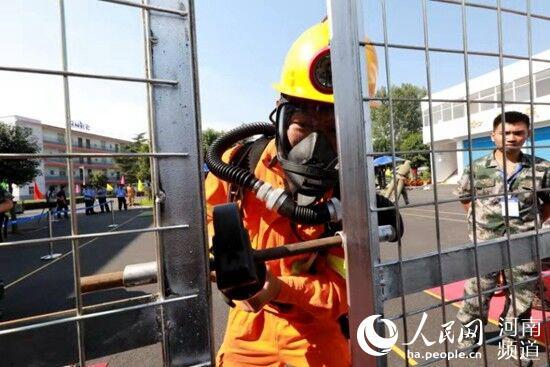 河南省举办第十届矿山救援技术竞赛