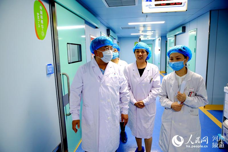 河南首家儿童造血干细胞移植病房启用