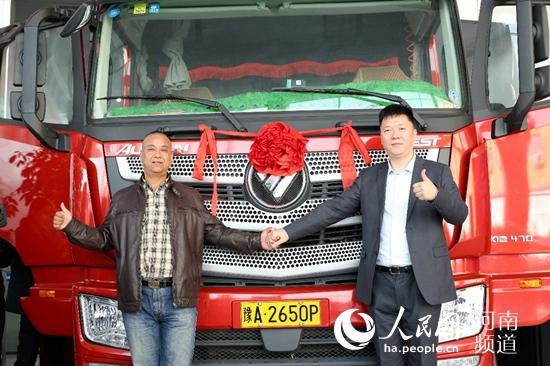 给力!全国首套记账式货车ETC设备在河南发行