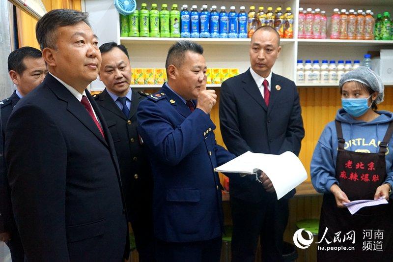 """守护孩子们""""舌尖上的安全"""" 河南郑州一直在行动"""