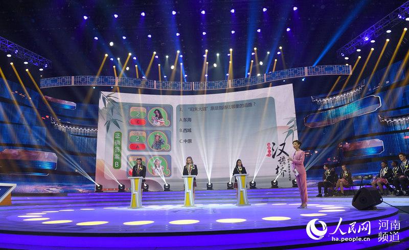 """""""汉语桥""""洲际晋级赛举行 五大洲冠军脱颖而出"""