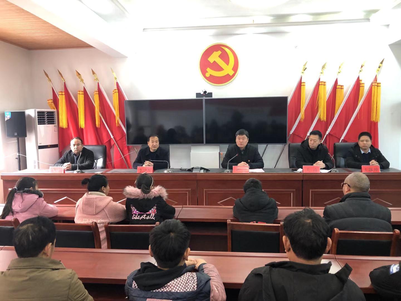 鲁山县寺沟村举办学生励志公益讲座