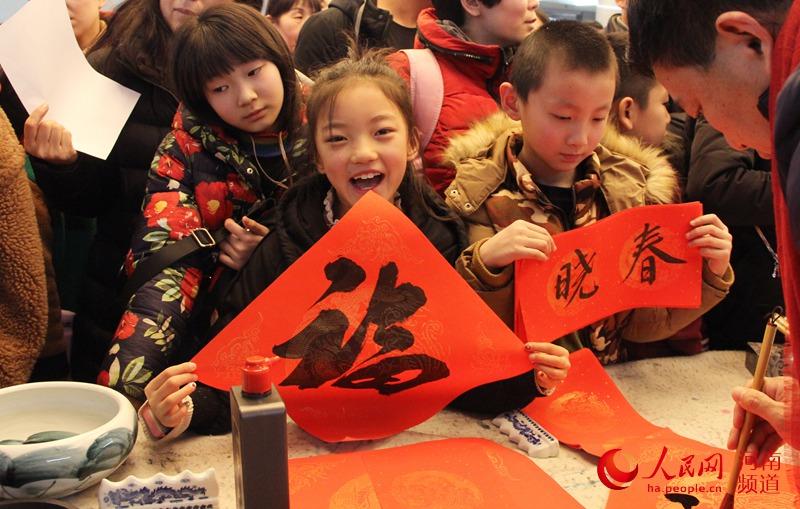 """""""大河之南 书香过年""""春节暨寒假系列活动在省少年儿童图书馆启动"""