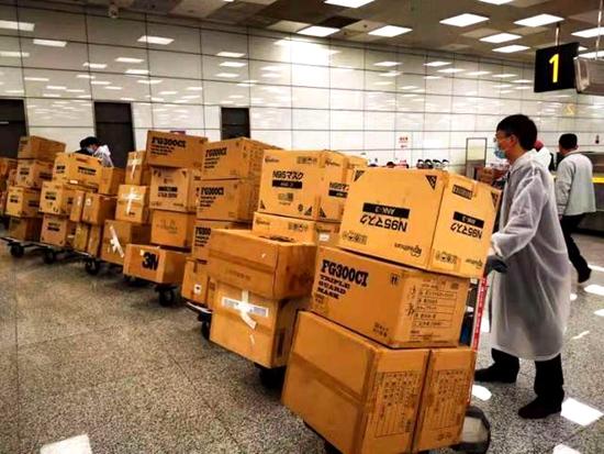 给力!河南省机场集团15天运送防控物资8万多件