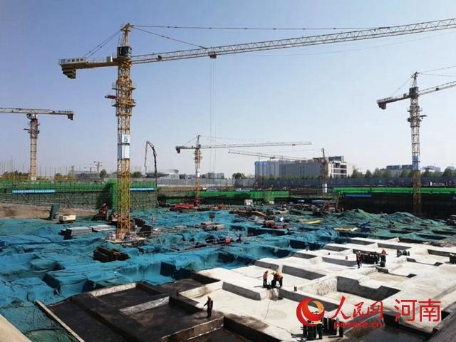 助力数字河南发展!郑州首个M0产业用地落地项目首开区雏形初见