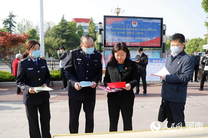 """筑牢人民防线!宝丰开展""""全民国家安全教育日""""宣传活动"""