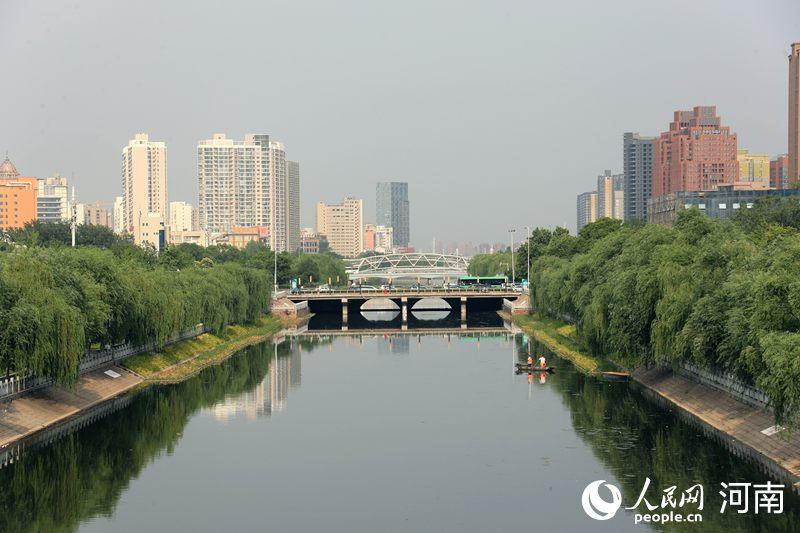 """东风渠变""""打卡""""圣地!见证高品质推进城市建设管理的金水实践"""