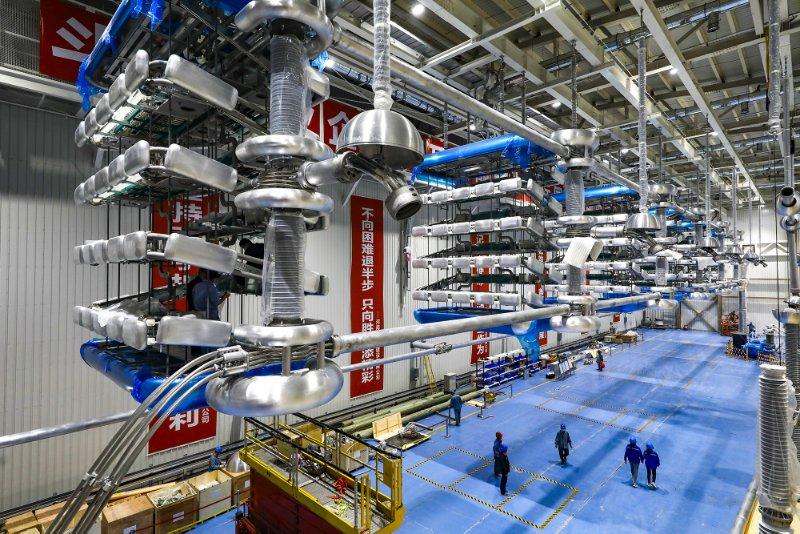 青海之电河南发光:青海至河南±800千伏特高压直流工程启动送电