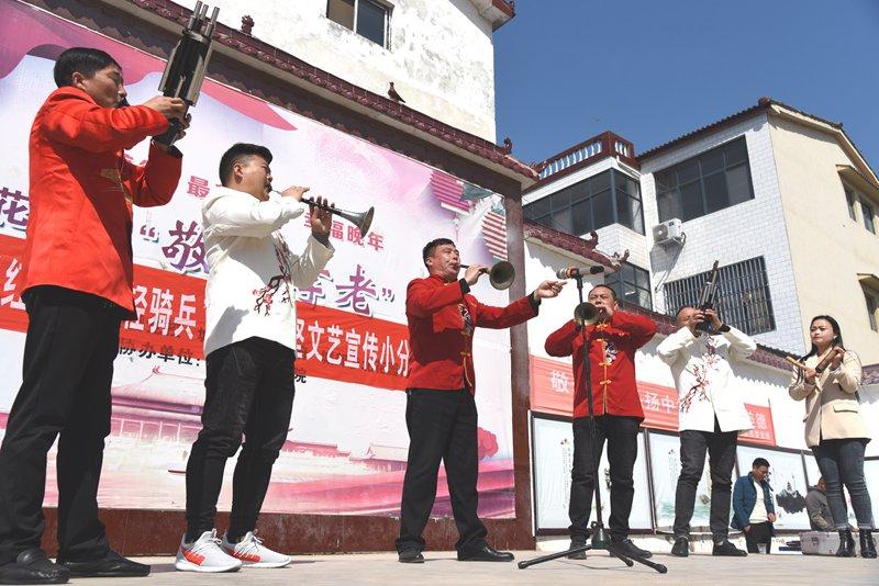 """河南杞县:活跃在田间地头的""""红色轻骑兵"""""""