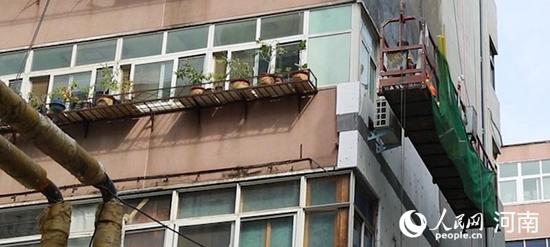 改造|了解郑州老旧小区第一步:从保温墙开始