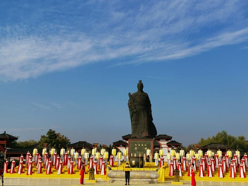 华商同心天下一家 第八届中国商丘国际华商节昨日开幕