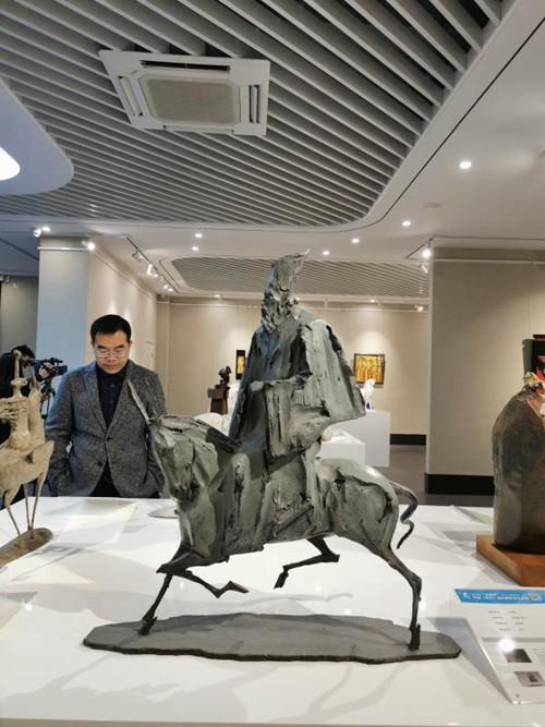 """""""杜甫杯""""中国(巩义)城市雕塑设计大赛获奖作品开展"""