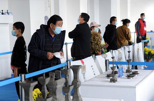 """首届""""中国·道口锡器文化节""""在河南滑县举行"""