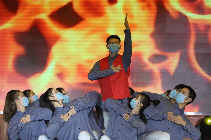"""郑州20所高校""""唱响""""社会主义核心价值观"""