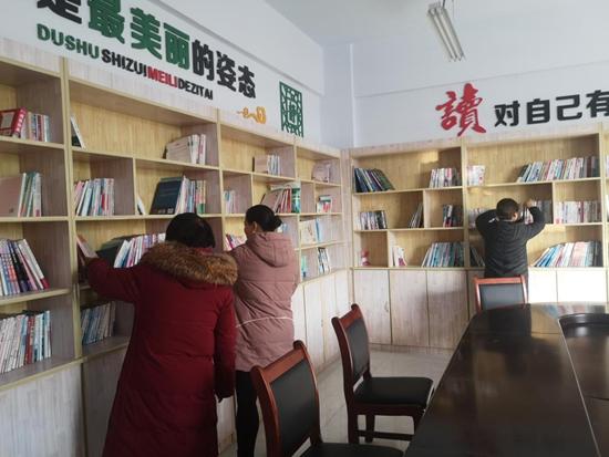 """小小图书馆蕴藏""""大能量"""""""